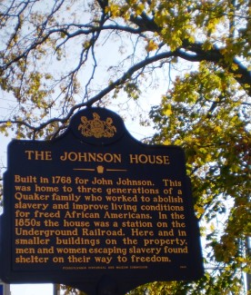 Johnson House receives historical marker