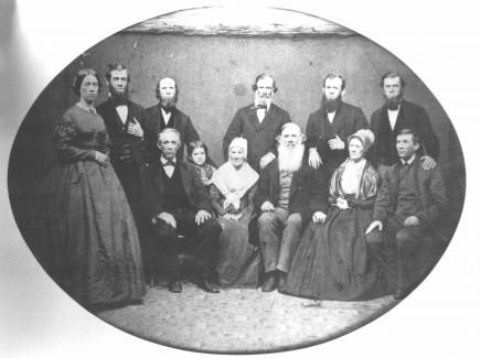 Johnson Family, circa 1874