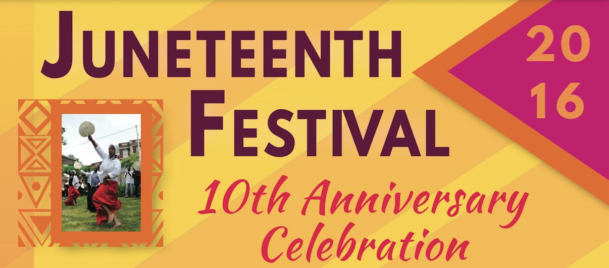 Juneteenth Festival  2016